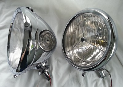 10 inch P80 Headlamps After