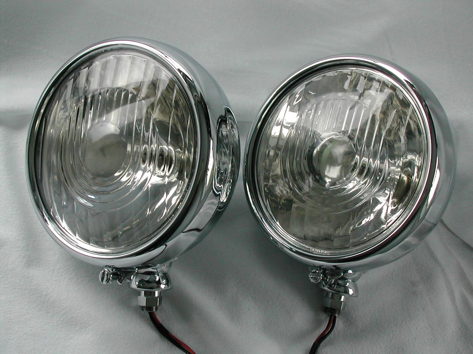 Lucas L140 Vintage Headlamp Restoration International