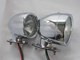 image 13. Rotax K515 Side light tall base Chrome Finish