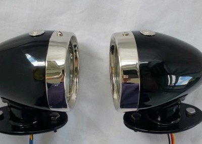 image 15. Rotax K515 Side light tall base Painted finish
