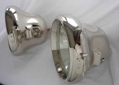 C.A.V  13 inches. 330 mm finished in Nickel suitable for Rolls Royce Silver Ghost.
