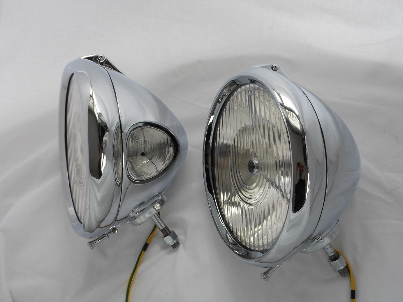 Lucas P80 Vintage Headlamp Restoration International