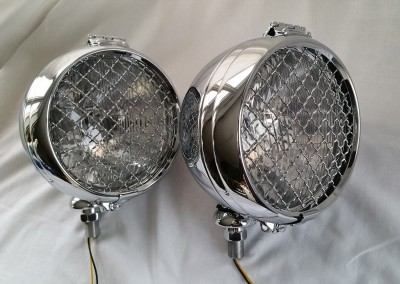 image 3. QK  6 inch 150 mm Classic Rally Lamp