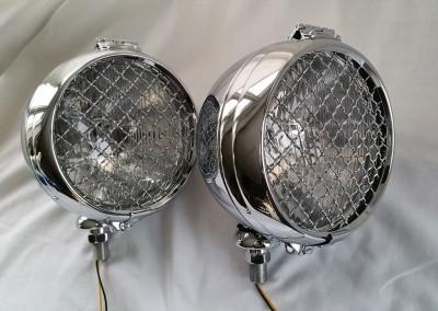 image 3. QK  6 inch 150 mm Classic Rally Lamp