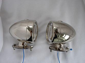 image 3. Smiths side light   3 litre Bentley