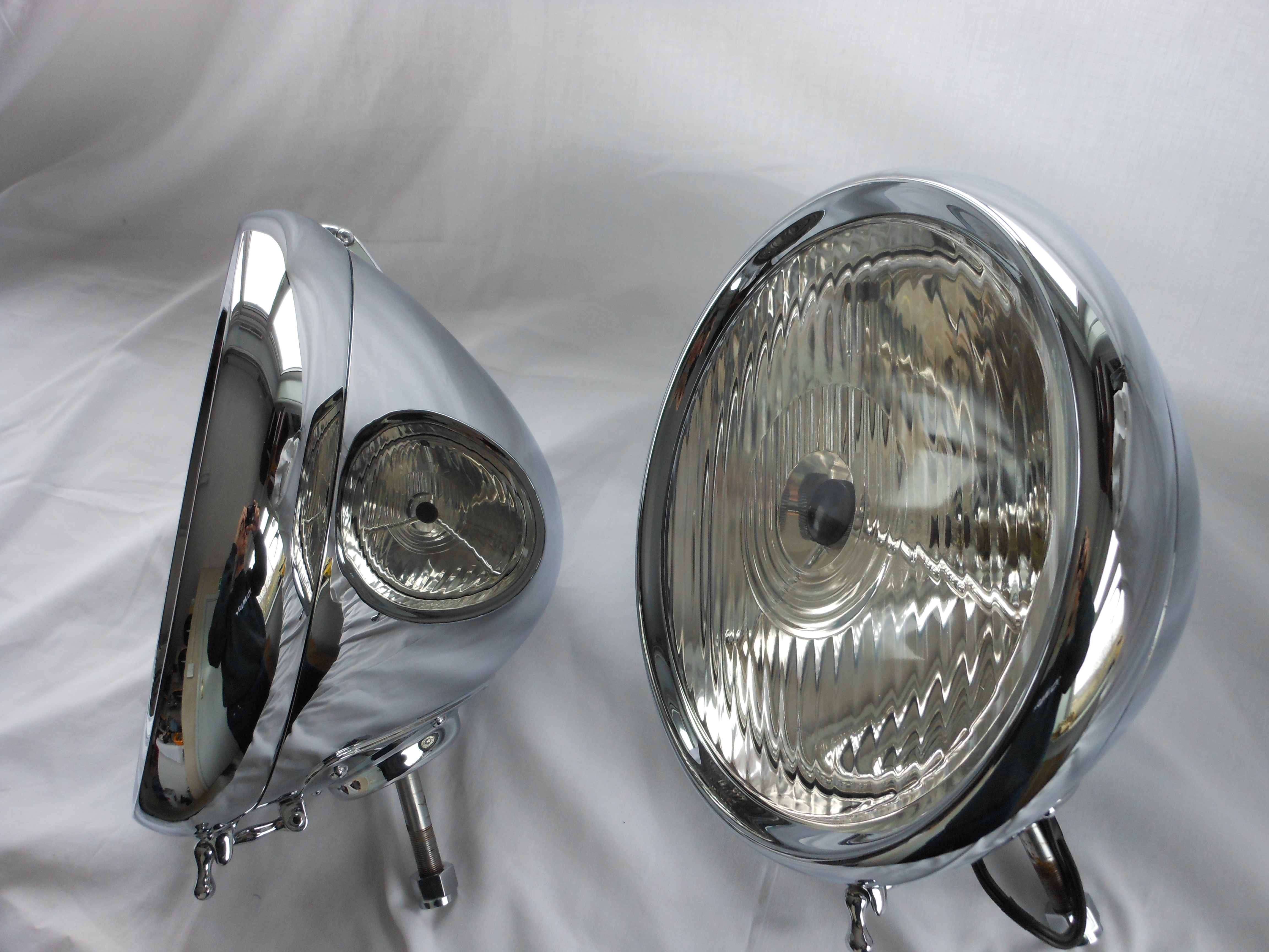 Lucas P100 Vintage Headlamp Restoration International
